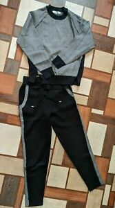Brunello Cucinelli Cashmere Tracksuit Pants Sweater Women's Size L