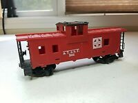 E1 HO Scale TRAIN Box CAR HORN HOOK ATSF CABOOSE RED 7240 SANTA FE
