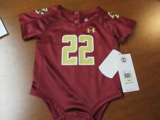 "BOSTON COLLEGE ""UNDER ARMOUR"" KIDS BODY SUIT JRSY (3-6 MTH) NWT $34 ""FLUTIE #22"""