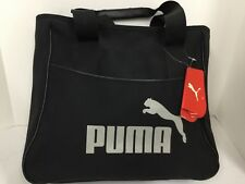 Puma Angel Shopper Tote Bag #064563 01 Black-limestone grey