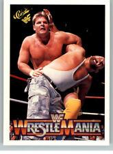 1990 Classic WWF WWE History of Wrestlemania #91 Rougeau Luke Bushwhackers