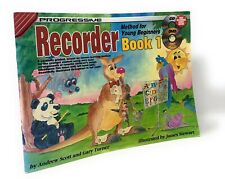 Progressive Recorder Method For Young Beginners Book 1 Includes CD & DVD Discs