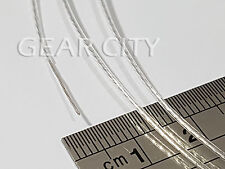 dws01 1m 3ft 0.12mm² Silver OCC Hook Up Wire Ø 0.8mm 26 AWG Audio Cable DIY HiFi