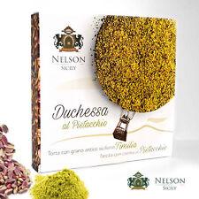 Duchessa - Torta artigianale con Pistacchio dell'Etna e grano antico Timilia