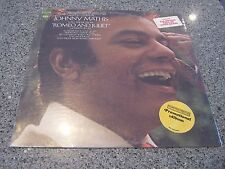 """Johnny Mathis 'Love theme From Romeo and Juliet"""" SEALED NM PROMO LP w/HYPE STICK"""