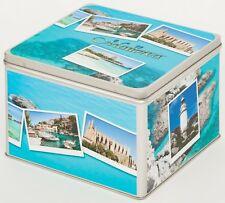 Álbum de fotografías metal lata caja blechbox Cookie Jar motivo españa Mallorca