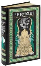 HP LOVECRAFT ~ COMPLETE CTHULHU MYTHOS TALES ~ LEATHER GIFT ED + POSTER