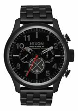 NIXON Safari Dual Time Chrono Watch - A1081 001 - Black