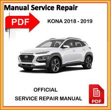 Hyundai KONA 2018 2019 Factory Service Repair Workshop Manual official