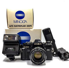 【Near Mint】MINOLTA X700 bl. Body, MOTOR DRIVE, Auto PX280,MD Rokkor 50mm/1.7