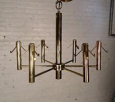 Vintage Modern Style Brass Chandelier (07281)NS