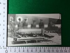 Handley Page 0/400 bomb 207 Squadron 1918 Le Cateau railway station - cutting