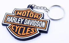Harleydavidson motorcycle Rubber keychain