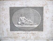 GRAVURE-CAMEE ANTIQUE-ROME-GRECE-MYTHOLOGIE-POSEIDON-J.B. WICAR-BERTAUX-1/3