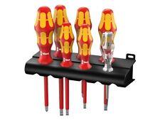 Wera 006147 Kraftform Plus 7 Piece Vde Screwdriver Set Philips & amp; Slotted