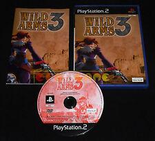 WILD ARMS 3 Ps2 Versione Ufficiale Italiana 1ª Edizione ••••• COMPLETO