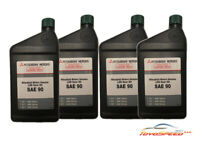 4 Quarts Genuine Mitsubishi DiaQueen LSD Oil Transfer Case Differential MZ320345