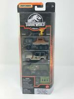 2020 Matchbox - Jurassic World 5-PACK - Total Tracker Team - Set of 5