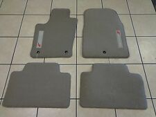 11-12 Dodge Durango New Premium Carpet Floor Mats Grey Mopar Factory Oem