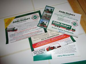 Eddie Stobart note book and pen & other items