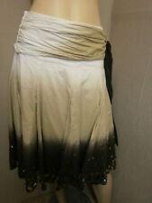 Cotton Hippy, Boho Patternless Plus Size Skirts for Women