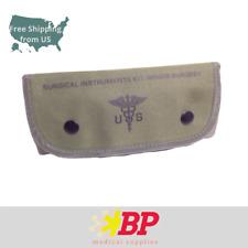 Surgical Instruments Kit Bag Green