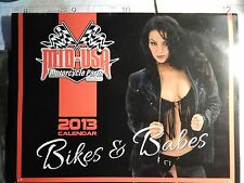 2013 Mid USA MotorCycle Parts Bikes and Babes Calendar