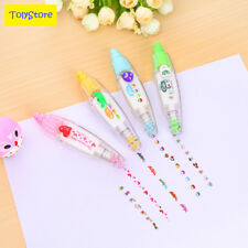 1 x korean cute correction tape kawaii stationery masking tape school supplies D