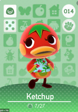 Animal Crossing: New Horizons Amiibo Ketchup #14 (Series 1) NFC Tag - NO ARTWORK