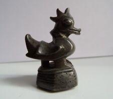 Antique ancien bronze Burmese OPIUM WEIGHT OPIUMGEWICHT POIDS OPIUM Birmanie