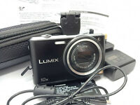 Panasonic LUMIX DMC-SZ3 16.1MP MEGAPIXEL Digital Camera - Black - 10x Zoom - LCD