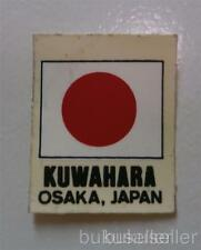 NOS KUWAHARA Osaka Japan decal sticker BMX old school fork Vintage