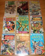 KUNG FU/KARATE LOT Master of,Iron Fist,Kid,House Yang,Richard Dragon Fighter+9BK