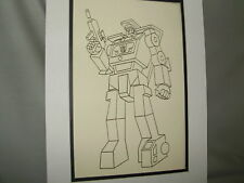 Transformer Hook   Pen Ink Art Poster Exhibit