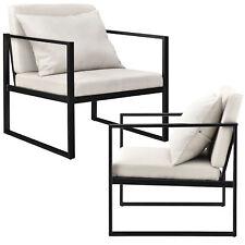 2x Design Lehnstuhl Relaxsessel Esszimmer Stuhl Sessel Polstersessel