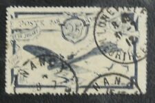 TIMBRES FRANCE : LIAISON AEROPOSTALE NANCY LUNEVILLE 31 JUILLET 1912 Obli. - TBE
