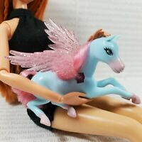 ANIMAL~BARBIE DOLL MAGIC OF PEGASUS WINGED MINIATURE HORSE FOR DIORAMA ACCESSORY