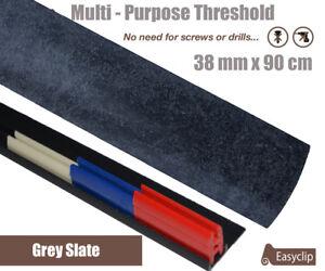 Grey Slate Multi-Purpose Threshold Strip 38mm x 90cm Multi-Height&Pivot
