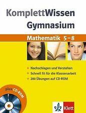 Komplett-Wissen Gymnasium. Mathematik 5. - 8. Schuljahr:...   Buch   Zustand gut