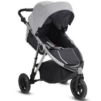 Baby Infant Stroller Foldable Pushchair Car Seat Carrycot Travel Single Carriage
