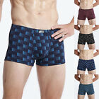 Stylish Men's Checks Boxers Soft Trunks Pants Briefs Shorts Underwear Underpants