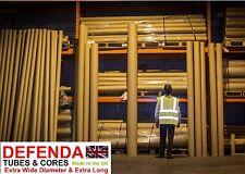 """1 x 3.5 m 350 cm 137"""" Extra Long x 100 mm large 4"""" forte tubes postaux en carton Art"""