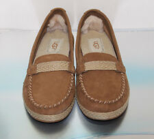Women's UGG Australia Chestnut ROZIE Loafers Slip On - Size US 5.5