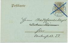"""DT. Reich """"Tübingen/stazione ferroviaria"""" k1 ed estremamente tezza. aggiuntivo MOLLA BLU CROCE"""