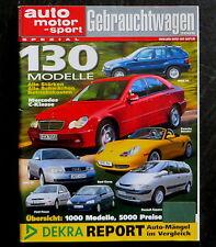 AMS Spezial Alles über Gebrauchtwagen Sonderheft 2005,Alle Preise+Betriebskosten