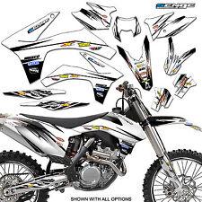 2017 KTM EXC EXCF GRAPHICS KIT F DECO DECALS 250 350 450 500 EXC-F STICKERS