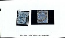 Postage Stamps, GREAT BRITAIN KEVII Scott 131/ SG276  Used Lot of 2    cc14