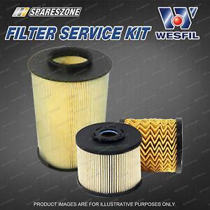 Wesfil Oil Air Fuel Filter Service Kit for Ford Focus LW LW II Kuga TF 2.0L TDCi