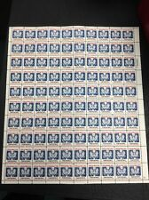 O138 D OFFICIAL STAMP SHEET OF 100 Mint Never Hinged Catalgues $545.00
