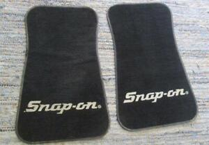 Vintage Snap On Tools Floor Mats Car & Truck Real Deal Snapon Floormats AWESOME!